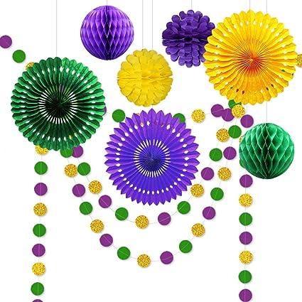 Amazon.com: CASA DECRO 10pcs Kit de decoración para fiestas ...