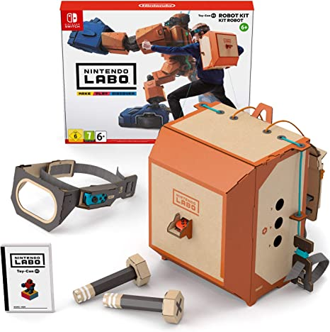 Oferta amazon: Switch Nintendo Labo: Toy-Con Kit robot