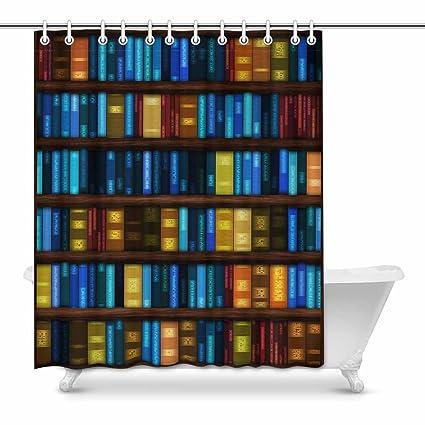 Amazon Com Interestprint Bitmap Of Bookshelves Full Of Books Prints