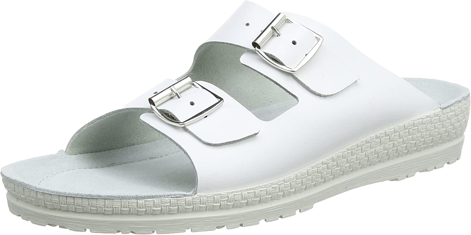Rohde Women's Mule Neustadt-D 1431 43 Wide 11 00 Max 40% OFF Max 40% OFF White