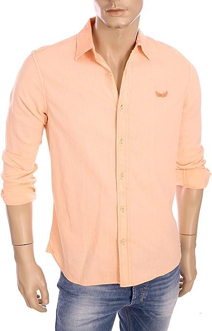 KAPORAL – Hombre – Camisa de Lino Tramp Naranja Verano 2016 ...