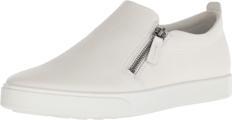 ECCO Women's Gillian Side Zip Sneaker