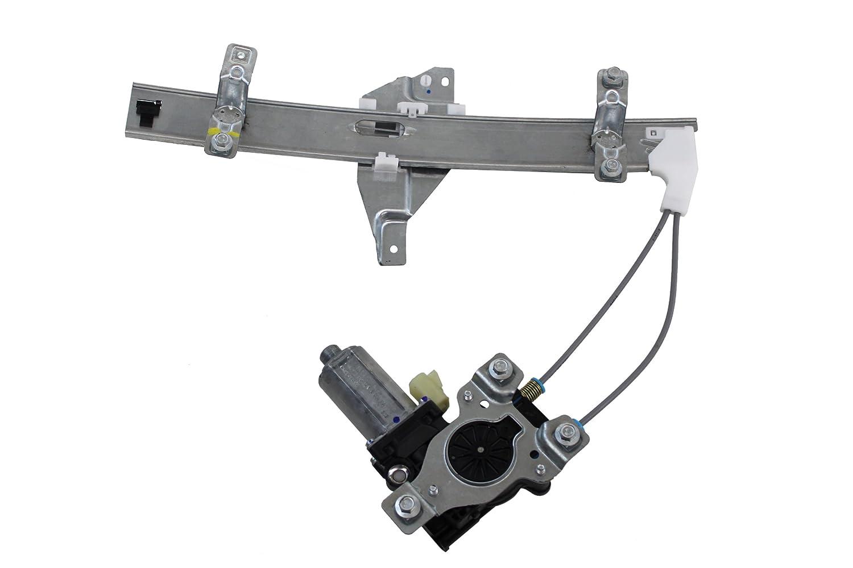 Genuine GM Parts 10334399 Driver Side Rear Door Glass Regulator Genuine General Motors Parts