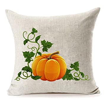 Amazon.com: Home Decor Thanksgiving Lino y Algodón Fall ...