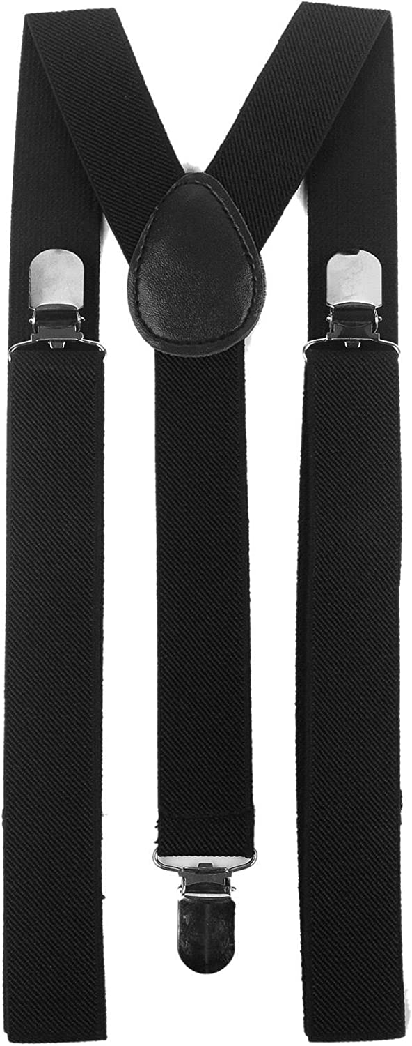 Plain Hat To Socks Mens Ladies Unisex Novelty Adjustable Suspenders Braces