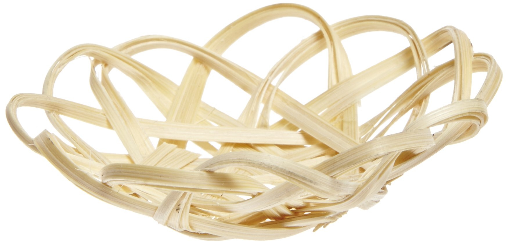 PacknWood Small Woven Basket Mini Plate (Case of 1000)