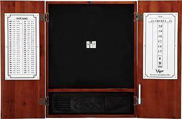 Viper Metropolitan Sisal/Bristle Steel Tip Dartboard Cabinet: Cabinet Only  (No Dartboard)