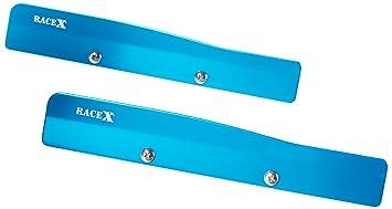 Racex Kit de alerón de limpiaparabrisas RX0071BL, Azul, de la Marca ...