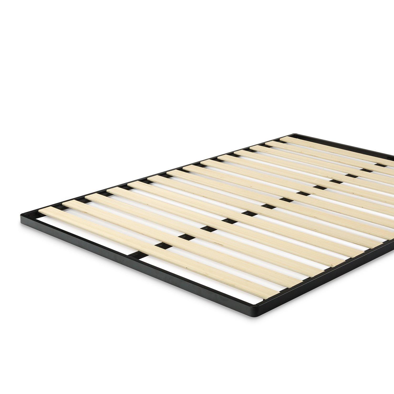 Amazon Zinus Easy Assembly Wood Slat 1 6 Inch Bunkie Board