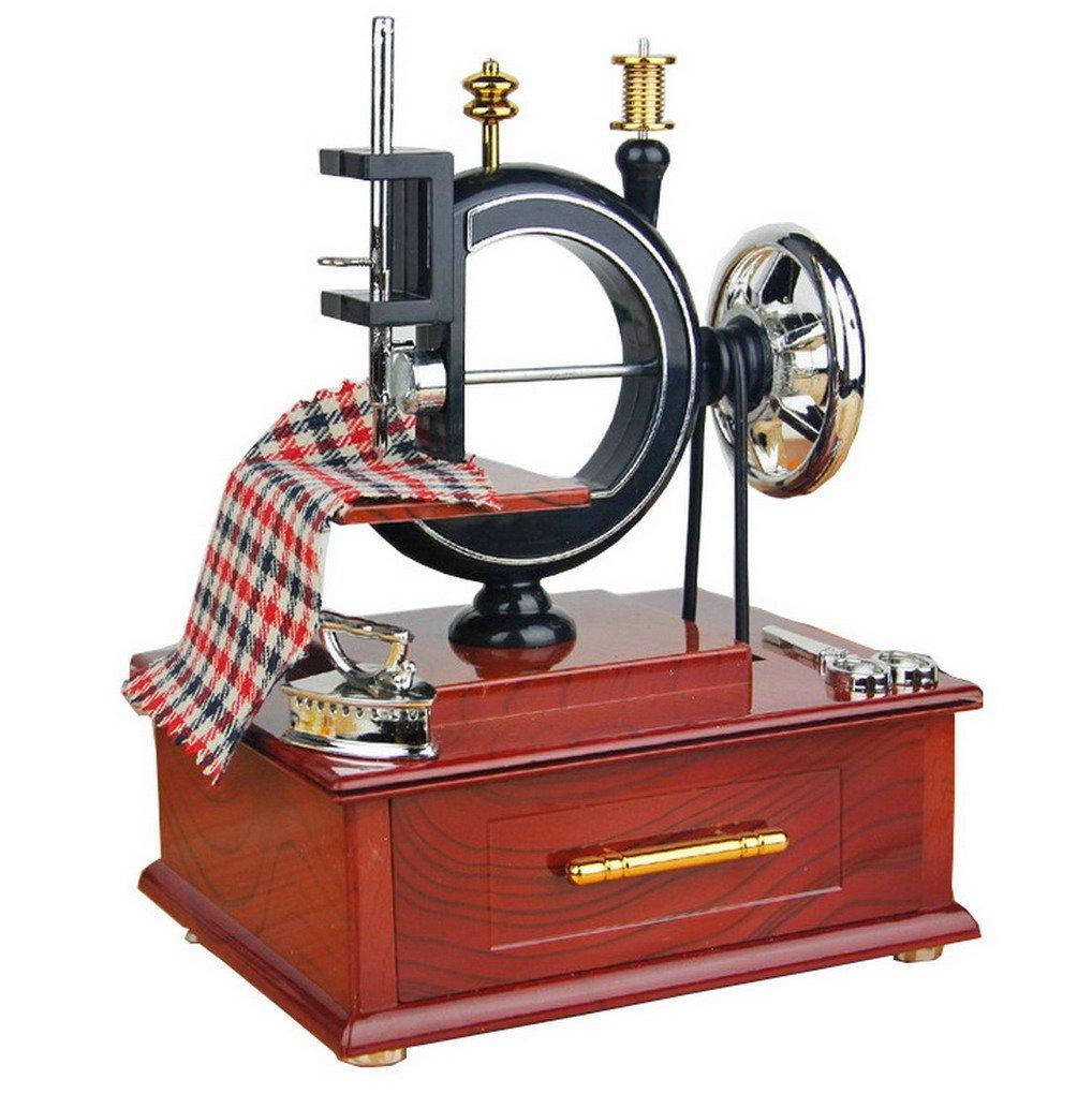 【開店記念セール!】 クラシックSewing B01IHARQJM MachineモデルClockwork Musicalボックスジュエリーストレージボックス B01IHARQJM, 新しいコレクション:9a2a38d2 --- egreensolutions.ca
