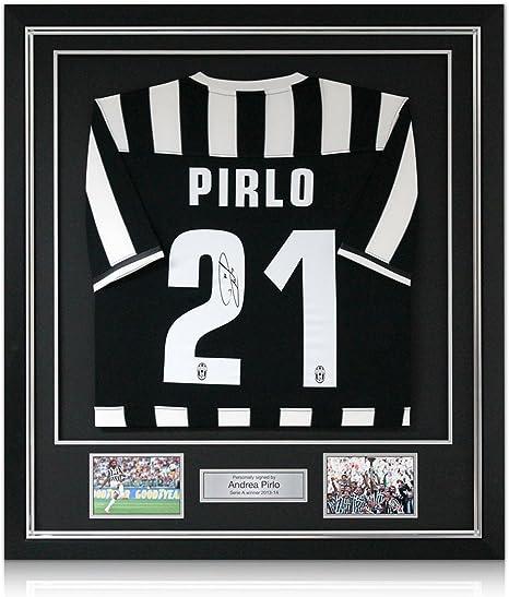Camiseta de fútbol Juventus firmado por Andrea Pirlo 2013-14 ...