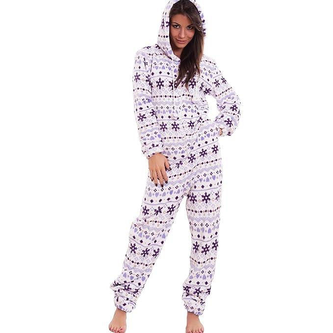 Toocool - Pijama de una Pieza - para Mujer Violeta XL