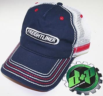PETERBILT HAT Red White /& Blue Distressed Trucker Cap    *FREE USA SHIPPING*