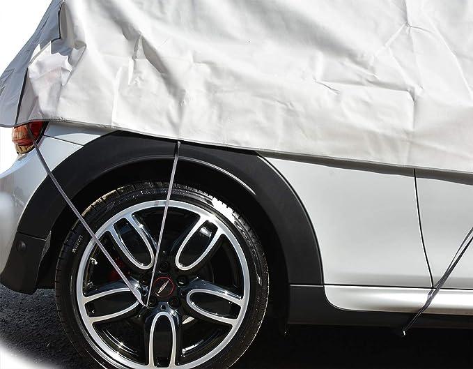 Halbgarage Optimo S M Für Das Auto Kfz Uv Frostz Schutz Geeignet Für Opel Agila B Ab 2008 Abdeckung Abdeckplane Auto
