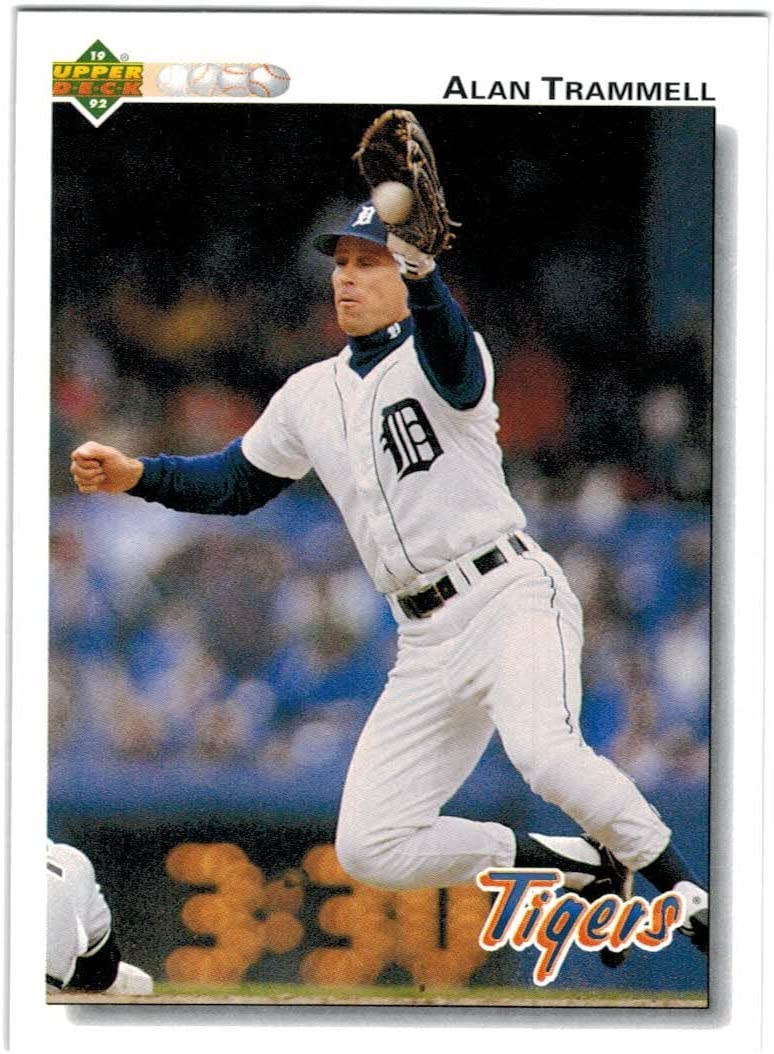 Amazon.com: 1992 Upper Deck Detroit Tigers Team Set with Alan ...