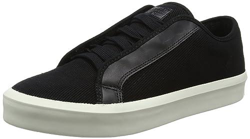 G-STAR RAW Strett Low, Sneaker Uomo, Bianco (Black 990), 42 EU
