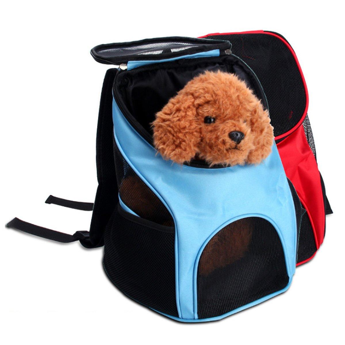 PETCUTE Rucksack f/ür Hunde Tragetasche Transportbox f/ür Kleine hunderucksack wandern hundetragetasche