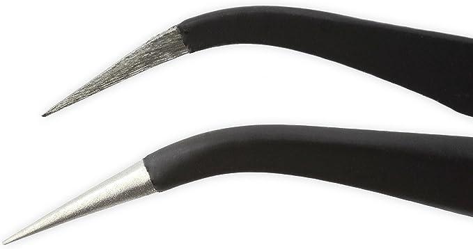 iFixit Precision Tweezer Set Set de pincettes de pr/écision antistatiques Protection /électrostatique des