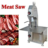 Commercial Kitchen 110V Electric Table Top Meat Band Saw Resturant Chopper