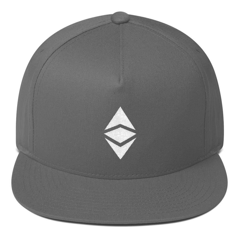 Flat Bill Cap Ethereum Classic ETC Cryptocurrency