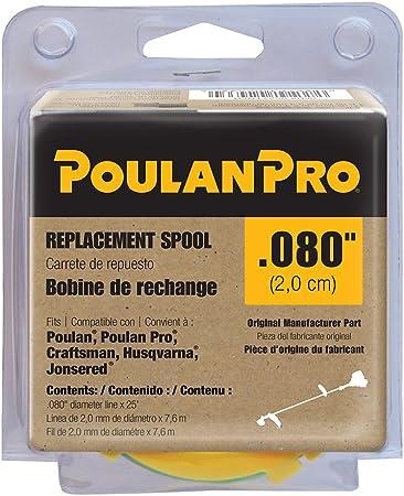 Amazon.com: Poulan/Weed eater 711636 Bobina de repuesto para ...
