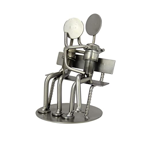 IK Style Unique Nut and Bolt in Love Couple Statue Figurine – Perfect Couple
