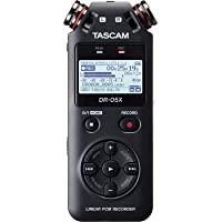 TASCAM DR-05X Stereo Portable Handheld Digital Audio Recorder