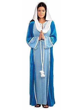 Amazon.com  Forum Novelties Women s Deluxe Biblical Virgin Mary ... 28da8ce4597c