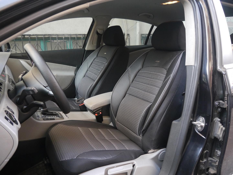 Coprisedili per auto no1 nero-grigio protettori set completo per sedili anteriori e posteriori seatcovers by k-maniac