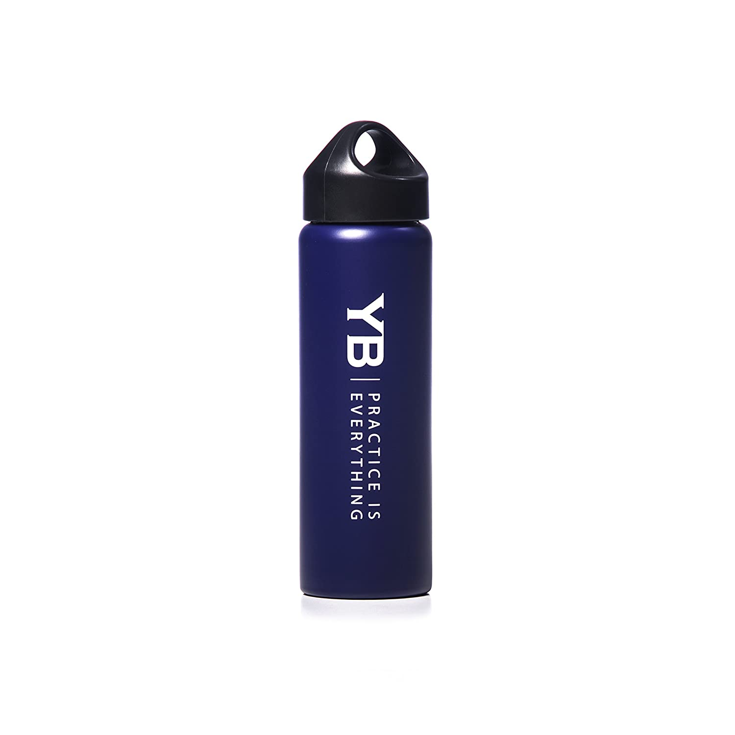 YOGABODY Hot /& Cold Sports Water Bottle BPA-Free Cap Stainless Steel Easy-Fill /& Easy Wash Mouth Leak-Proof Super-Insulated