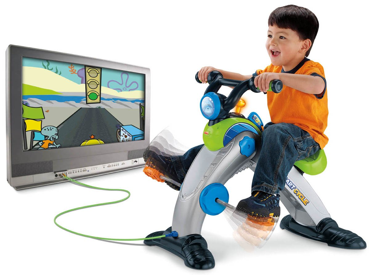 Fisher-Price Smart Cycle [Old Version] SpongeBob Software Cartridge by Nickelodeon (Image #3)