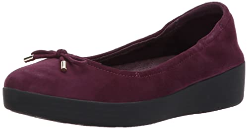 20661bde0 fitflop Womens Womens Superbendy Ballerinas Loafer Flat  Amazon.ca ...