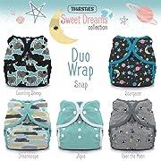 Thirsties Package, Snap Duo Wrap, Sweet Dreams Size 1