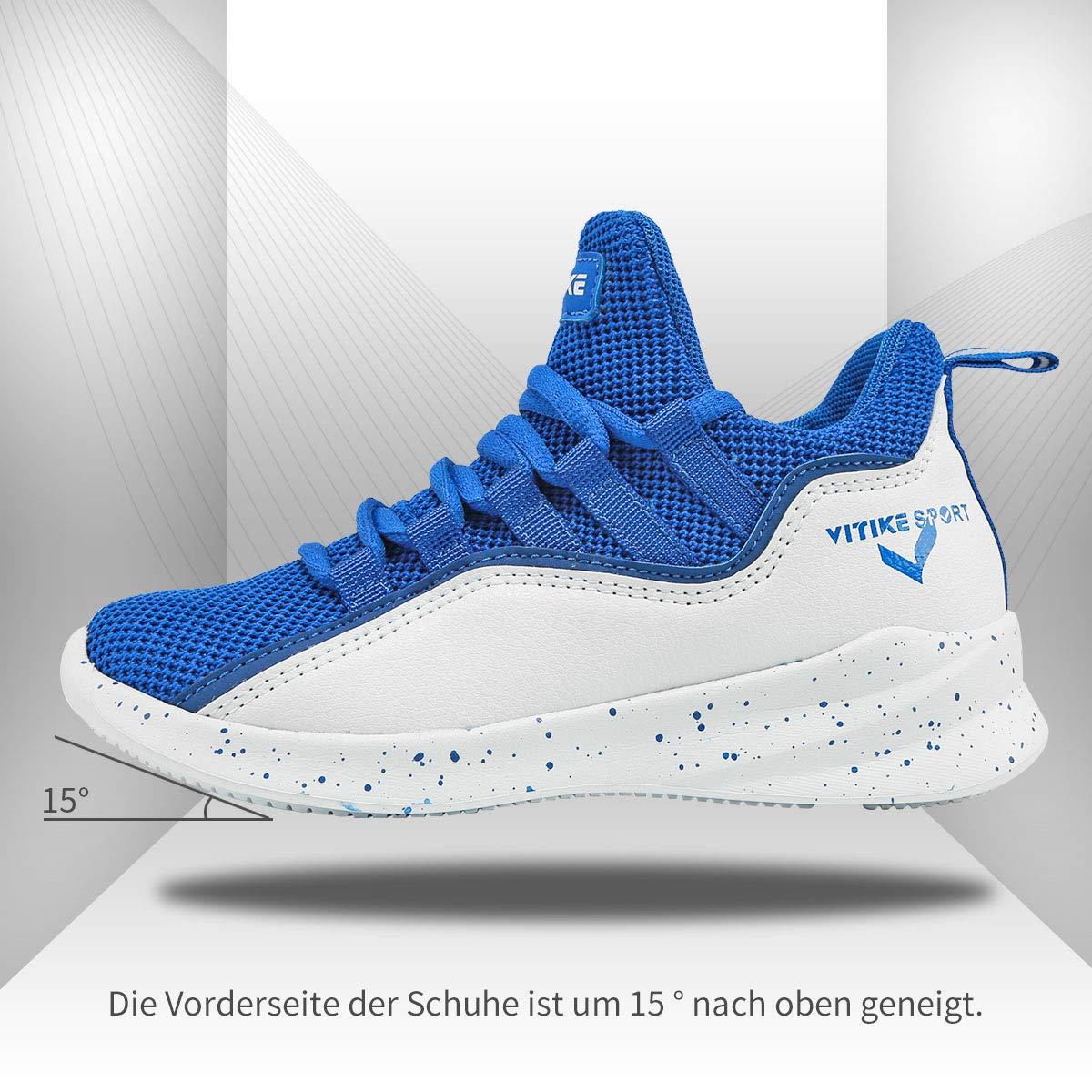 Chaussures de Sport Gar/çon Basket-Ball athl/étique Sneakers Chaussures dext/érieur Chaussure de Course Running