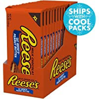 12-Pack Reese's Chocolate Candy Bars with Peanut Butter, Extra Large, 4.25 Ounce