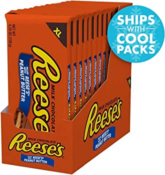 12-Pack Reese's Extra Large Chocolate Candy Bars with Peanut Butter