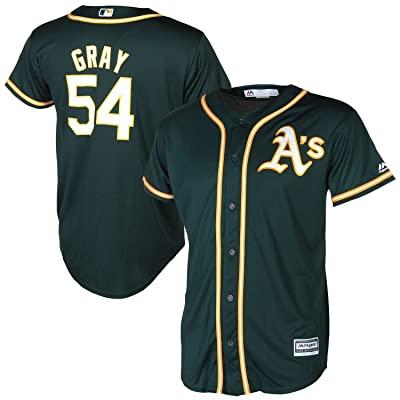 Sonny Gray Oakland Athletics Green Youth Cool Base Alternate Replica Jersey