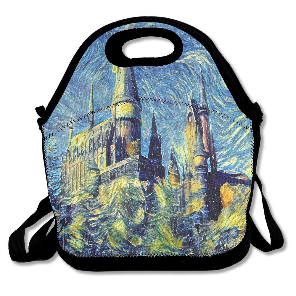 ijiuff Hogwarts Starry城ポータブル多機能ランチバッグトートピクニック旅行、最適   B07CQC5P6M