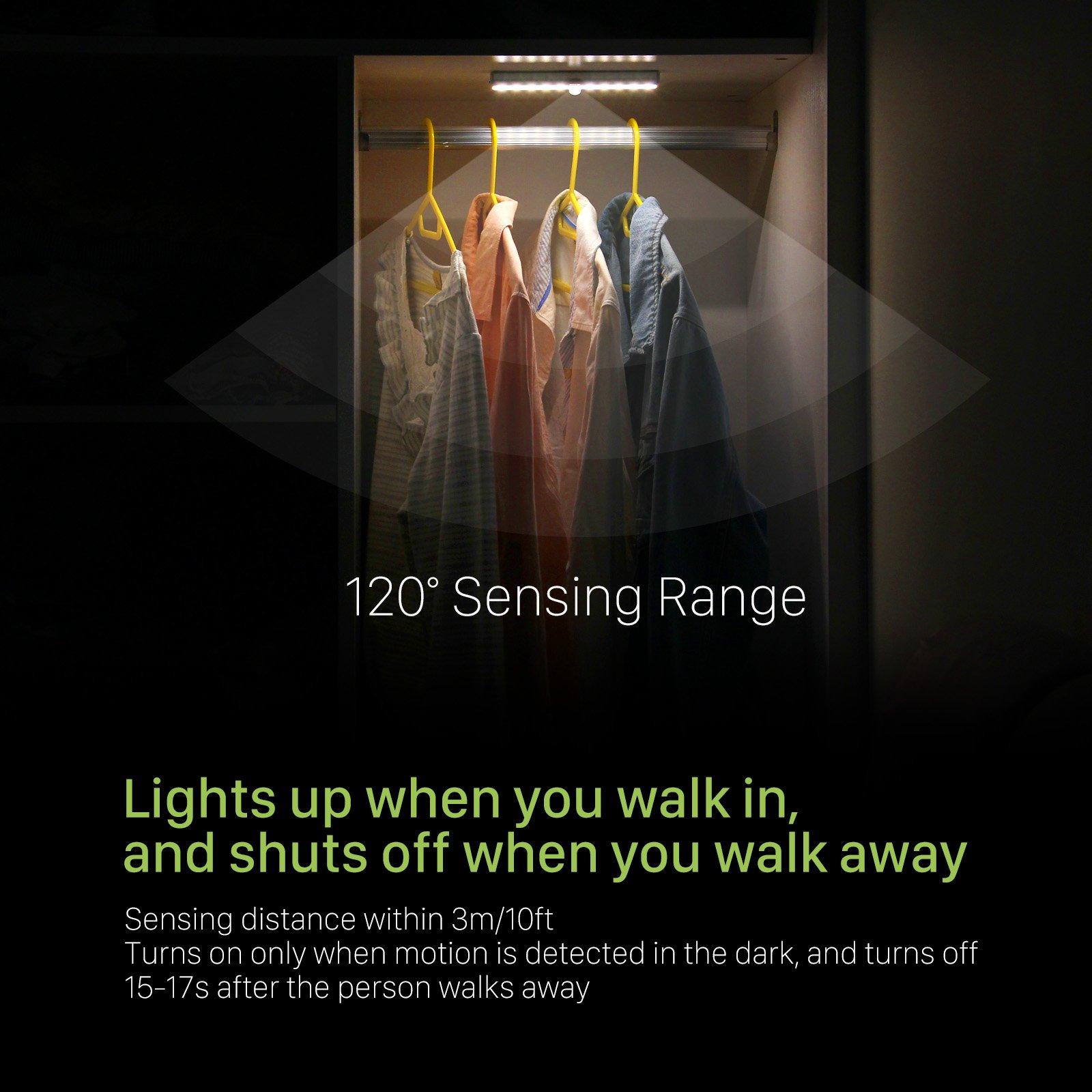 Oxyled Motion Sensor Lights Cordless Closet Light Under