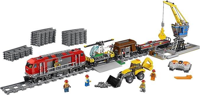 8x LEGO CITY FERROVIA-rotaia appena molto bene