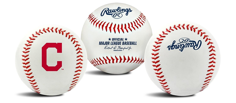Jarden Sports Licensing MLB Team Logo Baseball Official White 01240010121