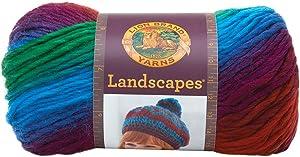 Lion Brand Yarn 545-205 Landscapes Yarn, Apple Orchard