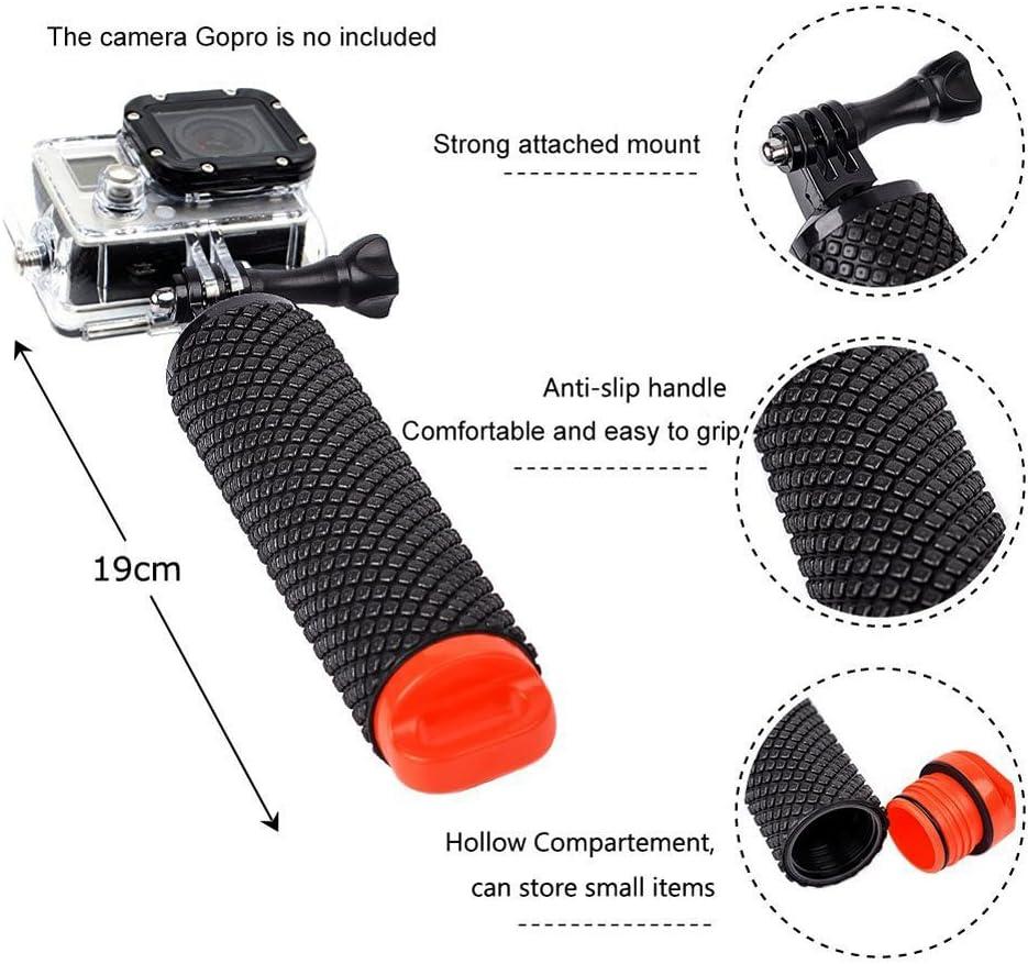 Yhtsport GoPro flottant Grip Poign/ée Accessoires de montage et de leau Sport Pole pour Geekpro 3.0/et ASX Action appareil /étanche flottant Hand grip tr/épied b/âton pour GoPro Hero 5/4/3/2/Session Sj4000