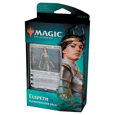 Magic: The Gathering Elspeth, Undaunted Hero Planeswalker Deck | Theros Beyond Death | 60-Card Starter Deck: Toys & Games