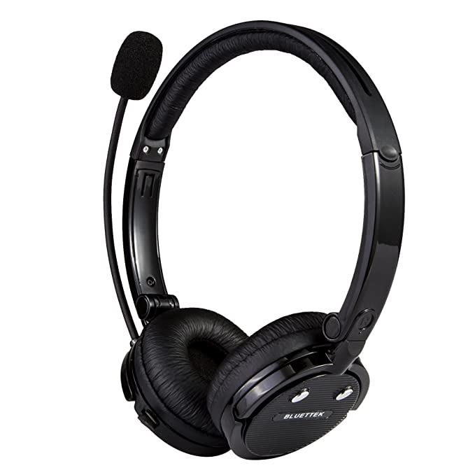 BLUETTEK Stereo Bluetooth Headset With Mic Noise Canceling Wireless  Bluetooth Headphones For Mobile Phones iPhone 4S 5,iPad PC PS3: Amazon.in:  Electronics