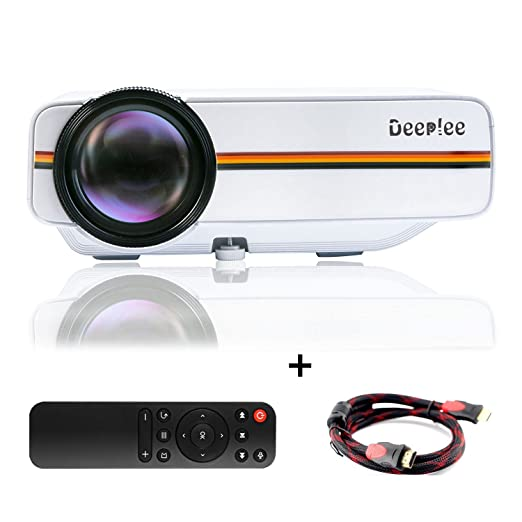 60 opinioni per Deeplee DP400- Video Proiettore di sostegno HD 1080P Full Color Max 150 Pollici