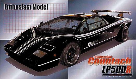 フジミ模型 1/24 エンスージアストモデルシリーズ No.18 ランボルギーニ カウンタック LP500R