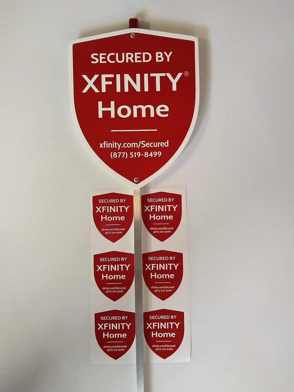 Xfinity Security Yard Sign (6) Outdoor Window Decals