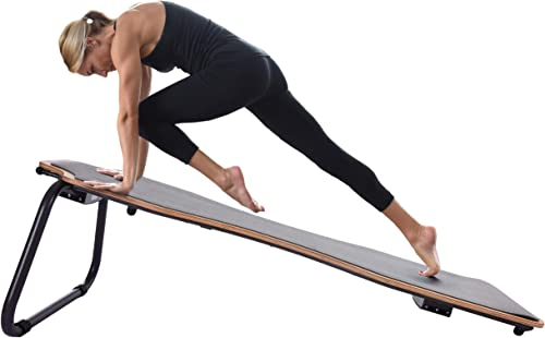 Stamina Juvo Board – Balance Board – Slant Board for Yoga, Pilates, Stand Up Paddle, Surf Training Balance Training with Workout Videos Included