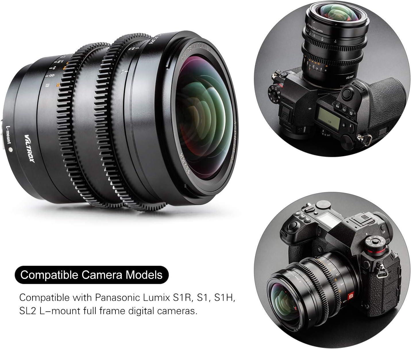 Viltrox S20mm T2 0 Asph Vollformat L Mount Kamera